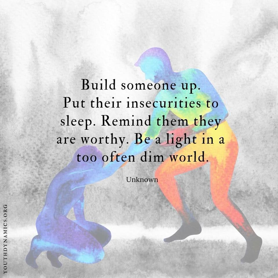 [Image] Be the Guide. Be the Light. Inspire all.