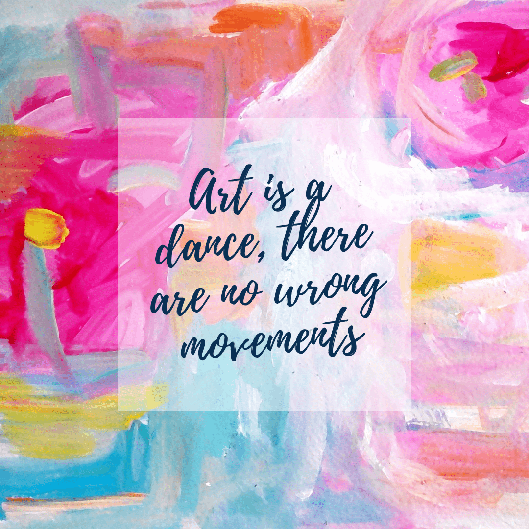 """""""Art is a dance, there are no wrong movements"""" Ksenia Tsyganyuk [1080×1080]"""
