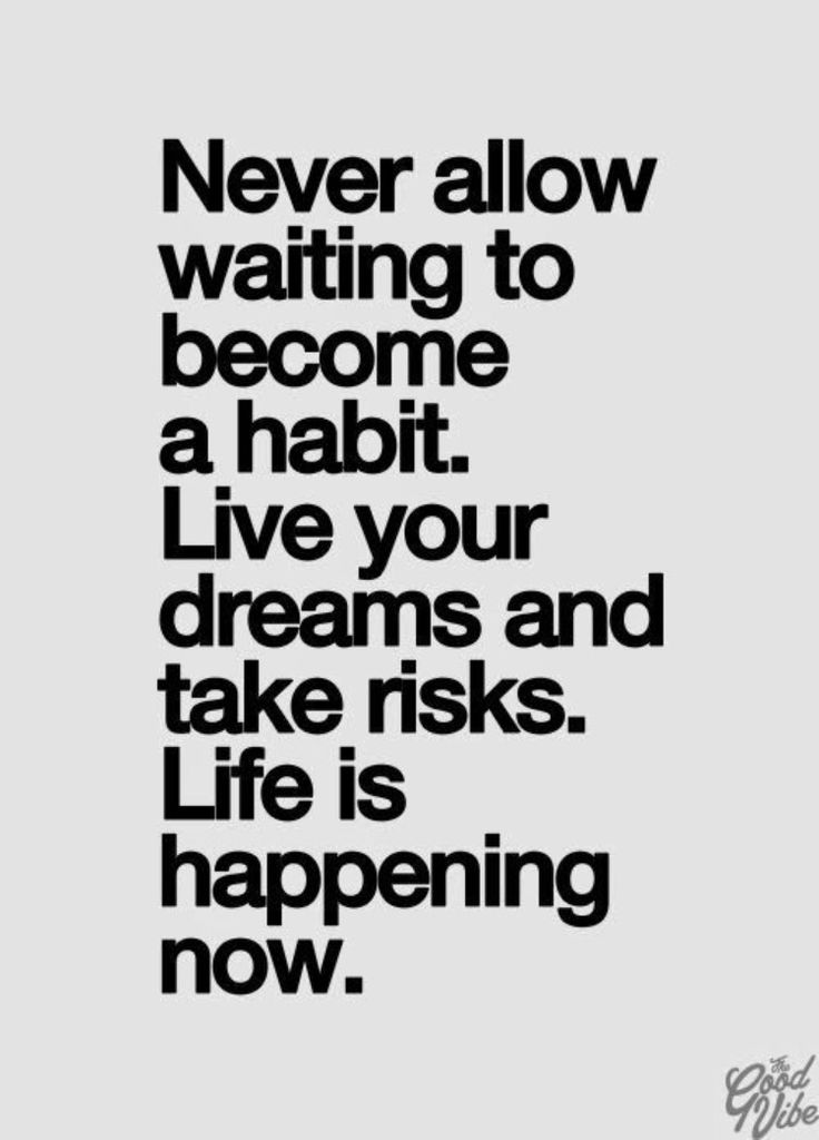 [Image] Life is happening now