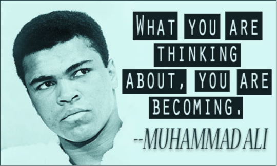 [Image] – What you are thinking about, you are becoming