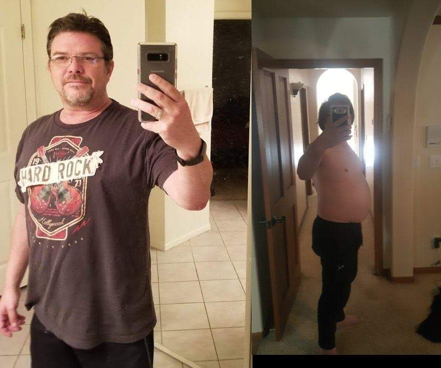 [Image]I Quit Drinking In January And Was 265 Pounds (19 Stone) Today I'm Down To 190 Pounds With A Little Exercise And Perseverance