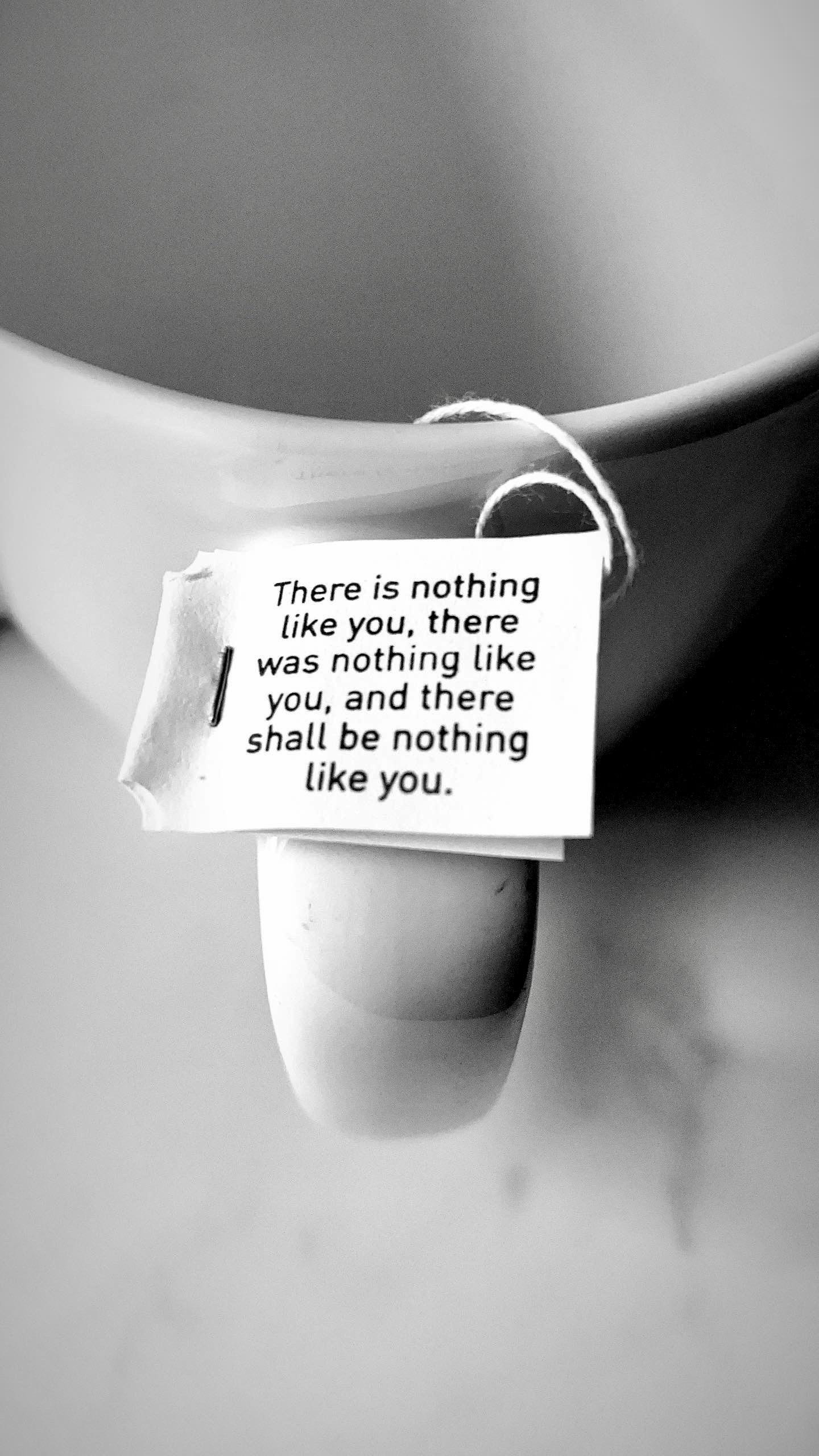 [image] There is nothing like you.