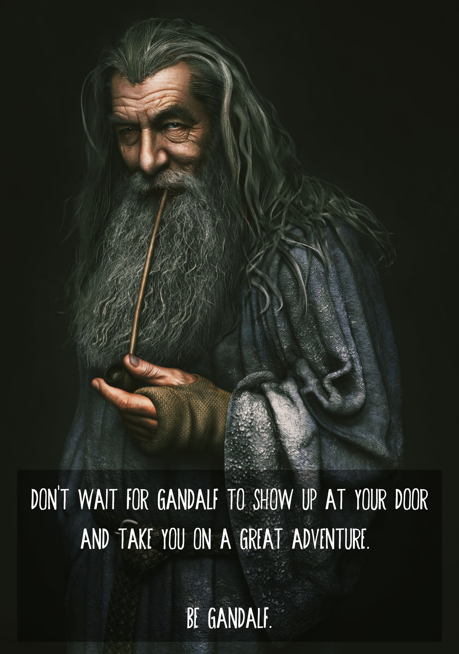 [Image] Be Gandalf.