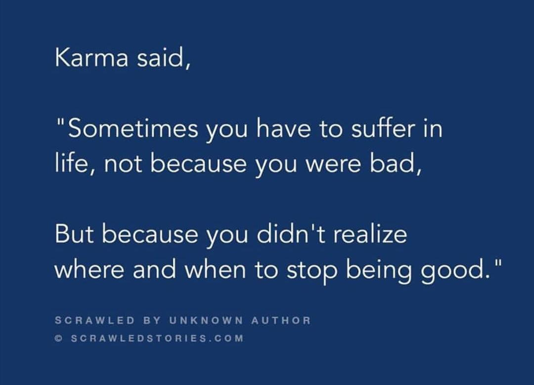 [IMAGE] Sometimes we suffer cause we're trying to make everyone around us happy.