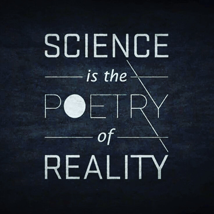 """SCIENCE if the POETRY of REALITY"", Eternal Gods Die Too Soon by Beka Modrekiladze [736×736]"