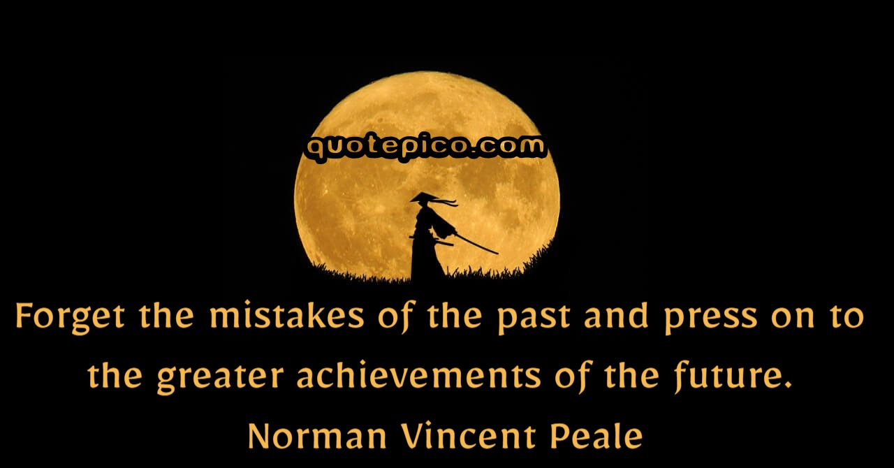 [Image] Forget the mistakes of the past