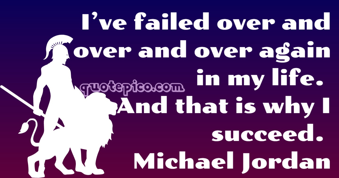 [Image] Michael Jordan success Quote