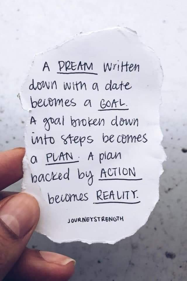 [Image] It all starts with a single step