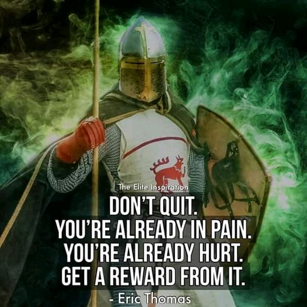 """""""Don't Quit. You're Already In Pain. You're Already Hurt. Get A Reward From It. – Eric Thomas- [ 800×1020]"""