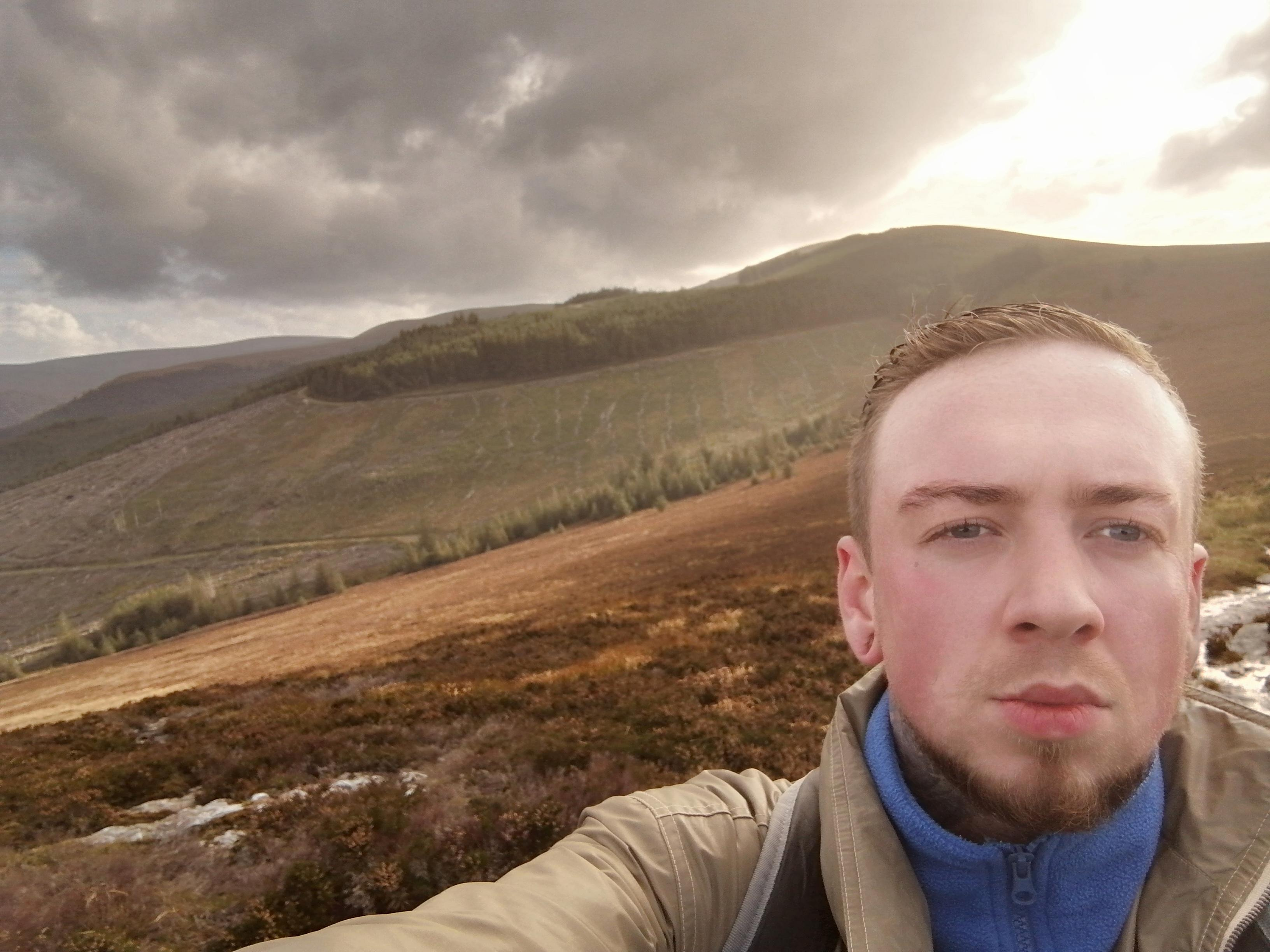 [image] last year I was in the midst of a near fatal drug addiction, isolated, paronoid, depressed. This year I'm sober & for the first time went on a hike in the beautiful wicklow mountains in ireland, I bonded with the people who came with me and im so grateful to be alive. There is more to life!