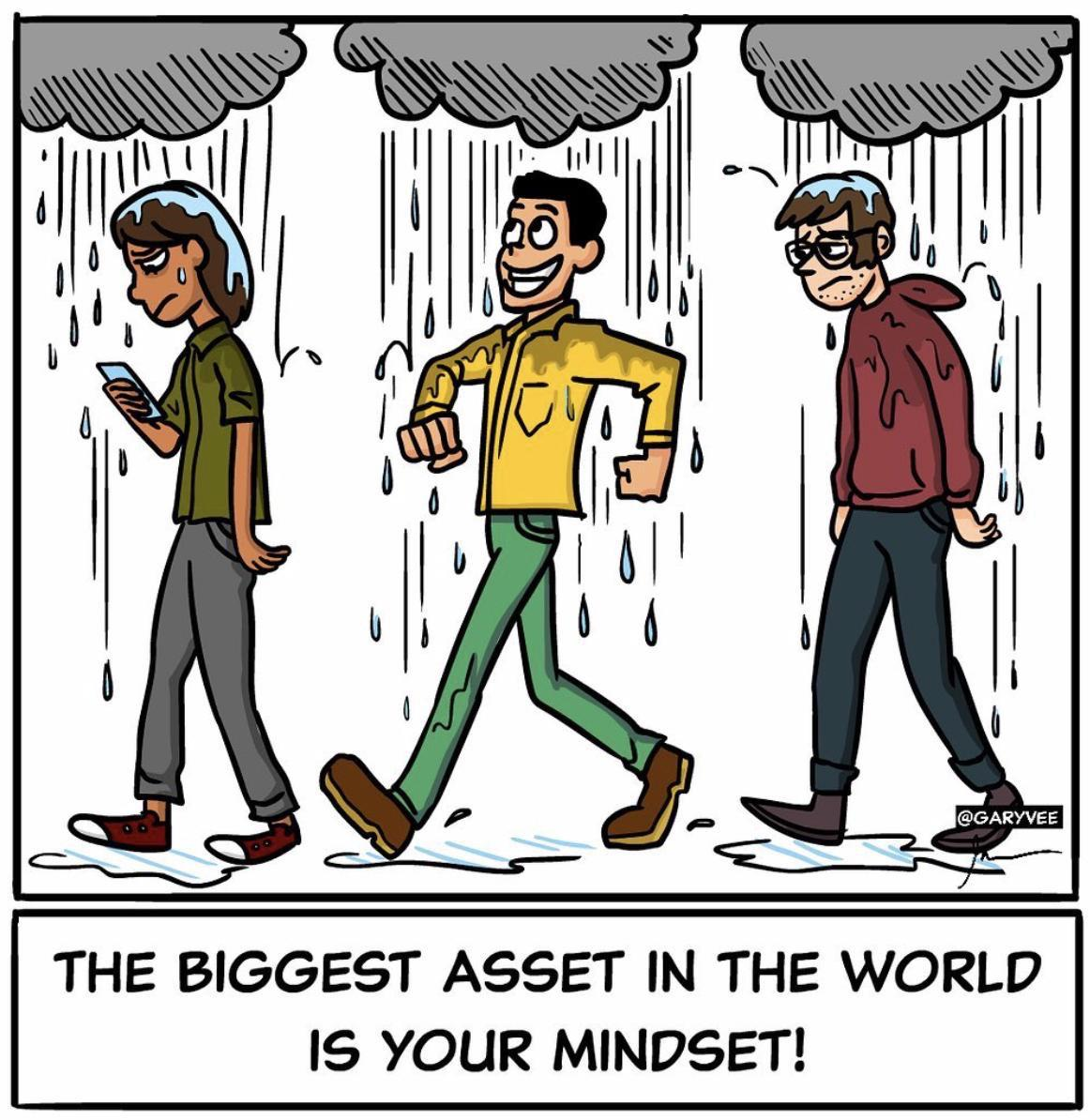 THE BIGGEST ASSET IN THE WORLD IS YOUR MINDSET! https://inspirational.ly