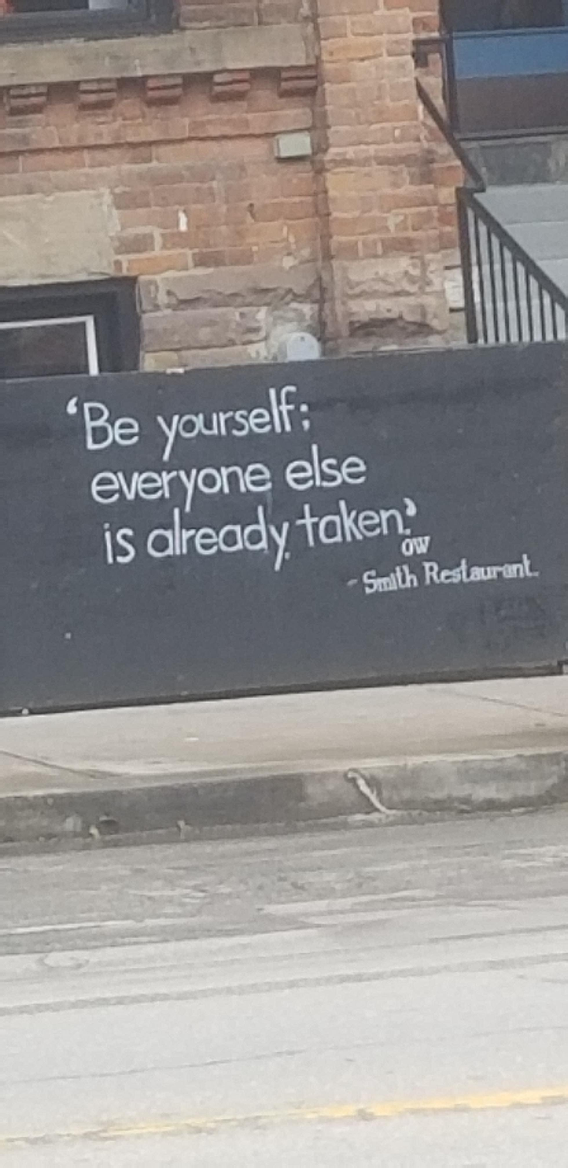 [Image] Found while walking down the streets of Toronto