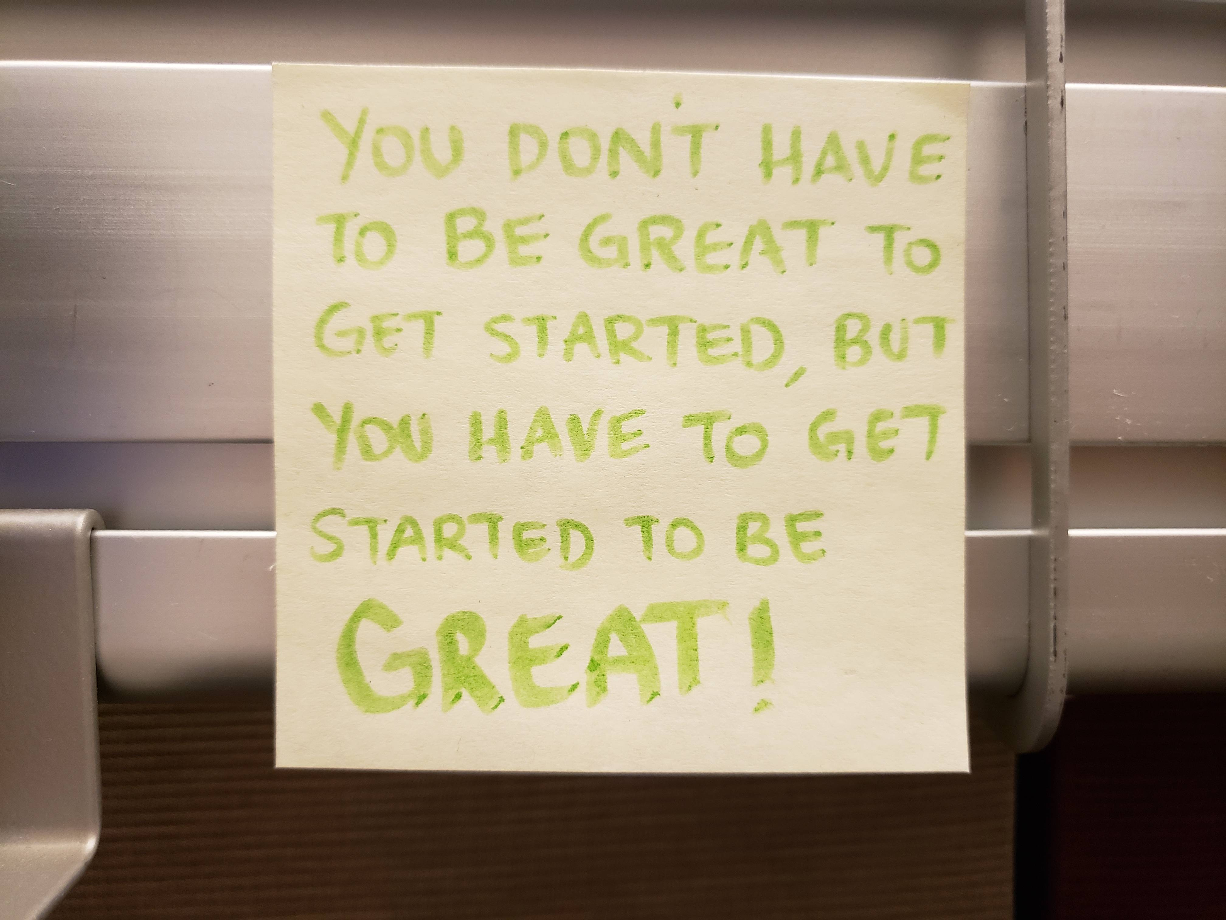 [Image] A co-worker who left had this posted up his cube. I keep it in mine now.