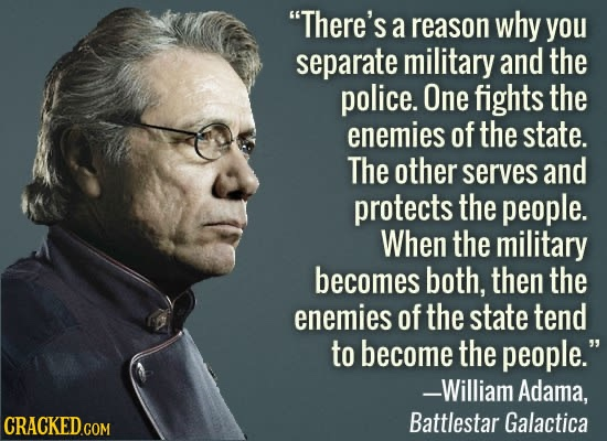 Separation of military and police, William Adama [550×400]