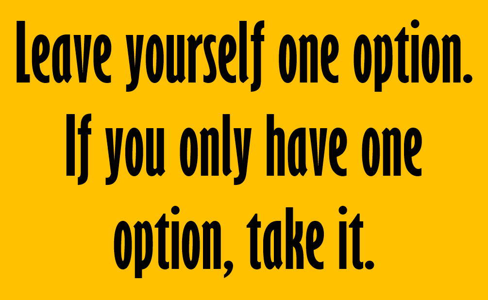 [Image] One option