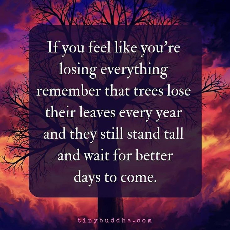 [Image] Better Days Will Come