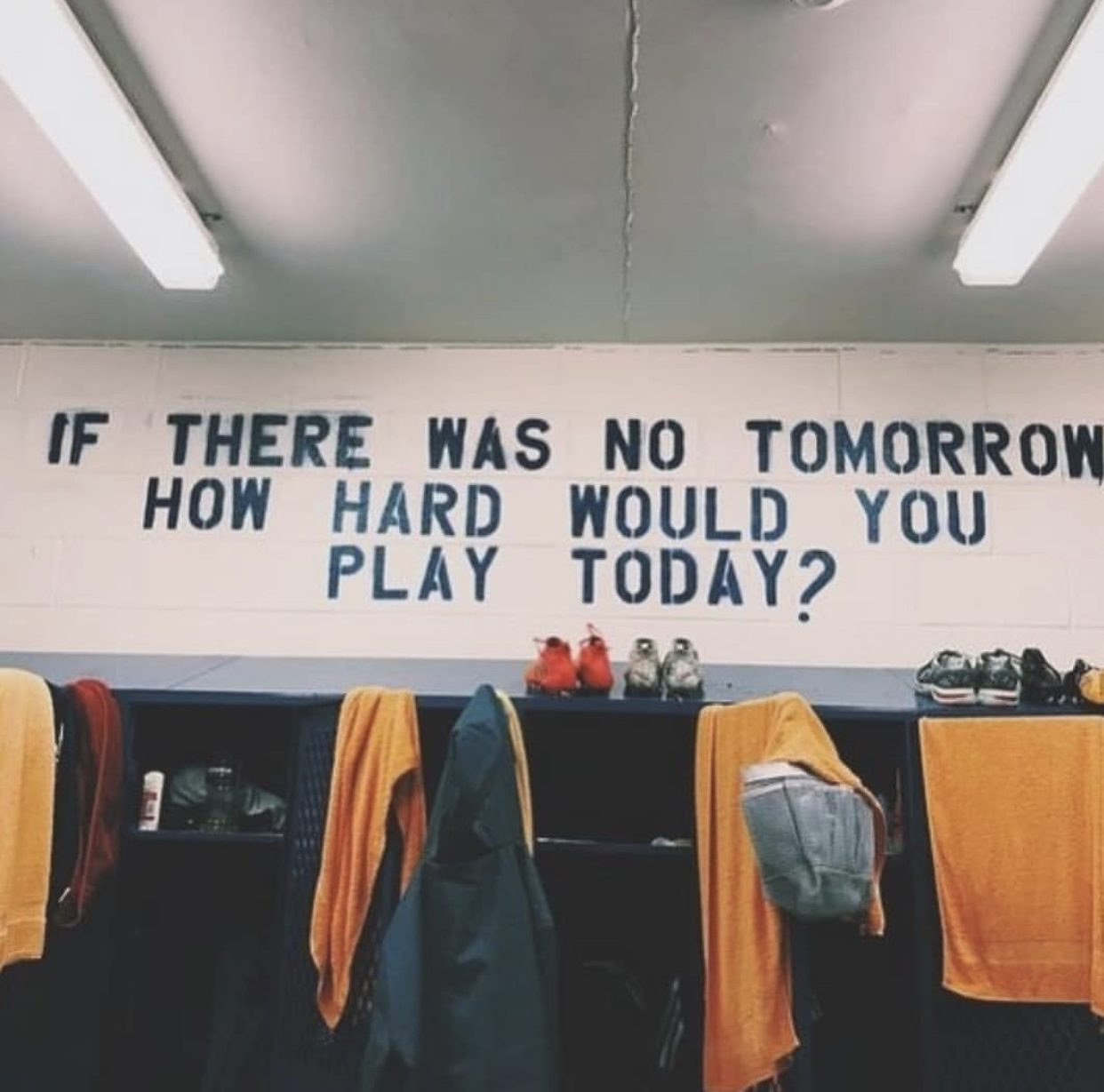 [image] if there was no tomorrow, how hard would you play today?