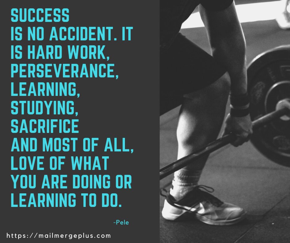 Success is no accident – Pele [OS] [940 x 788]