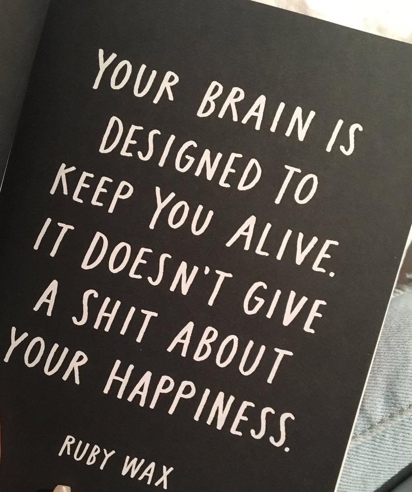 """Your brain…"", Ruby Wax, [811×969]"