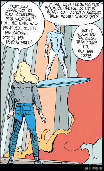 [Image] where then would valor be? – Silver surfer