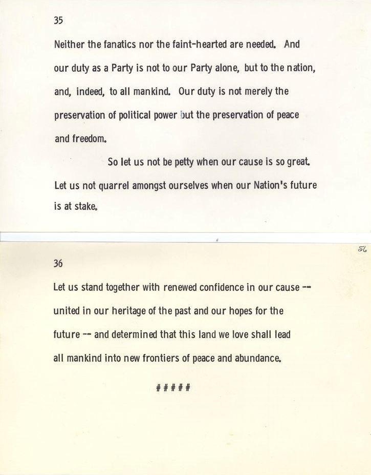 """Let us not quarrel amongst ourselves when our nations future is at stake"" ( John F. Kennedy, undelivered speech, November 22,1963.) (480x800px)"