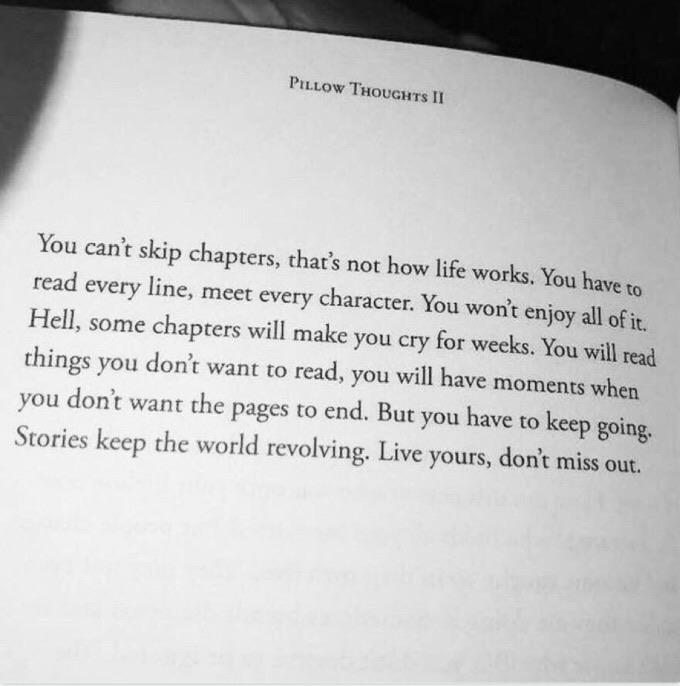 [image] chapters of life. Reposted.