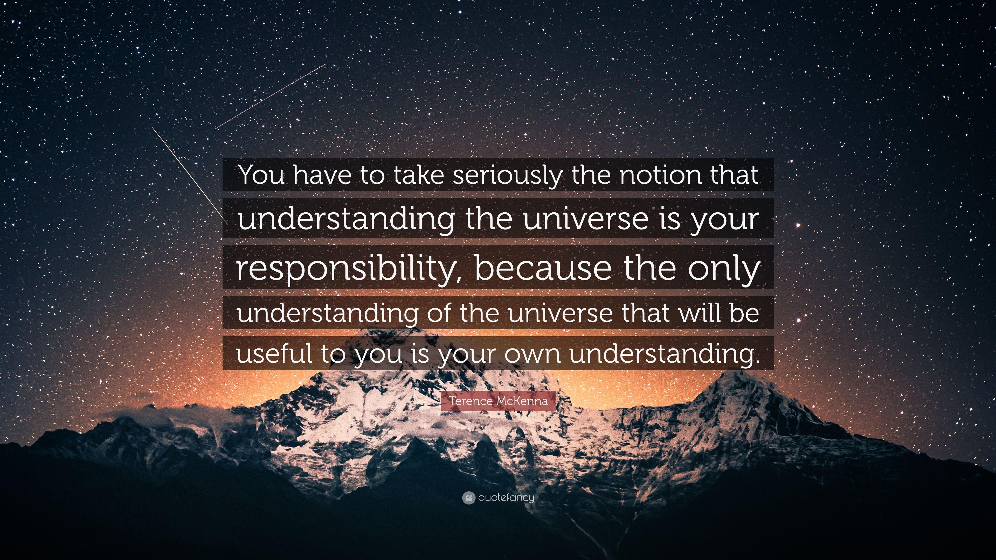 """You have to take seriously…"" ~ Terence McKenna [3840×2160]"