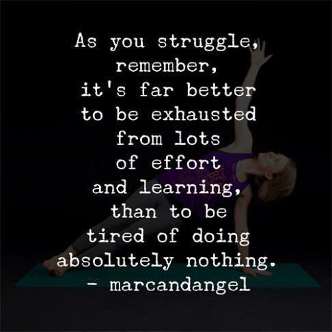 "[IMAGE] ""It's Far Better to Be Exhausted from Lots of Effort and Learning"""