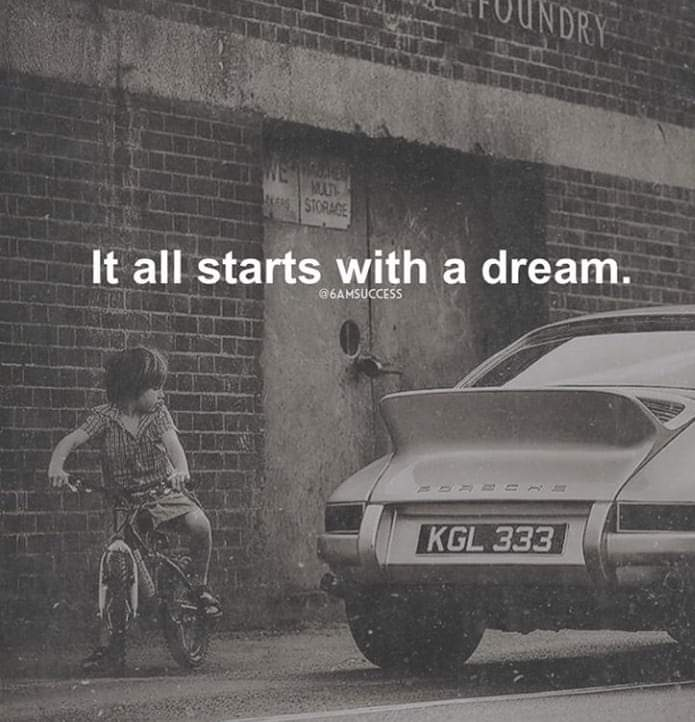 [image] A vision without action is merely a dream – K.G