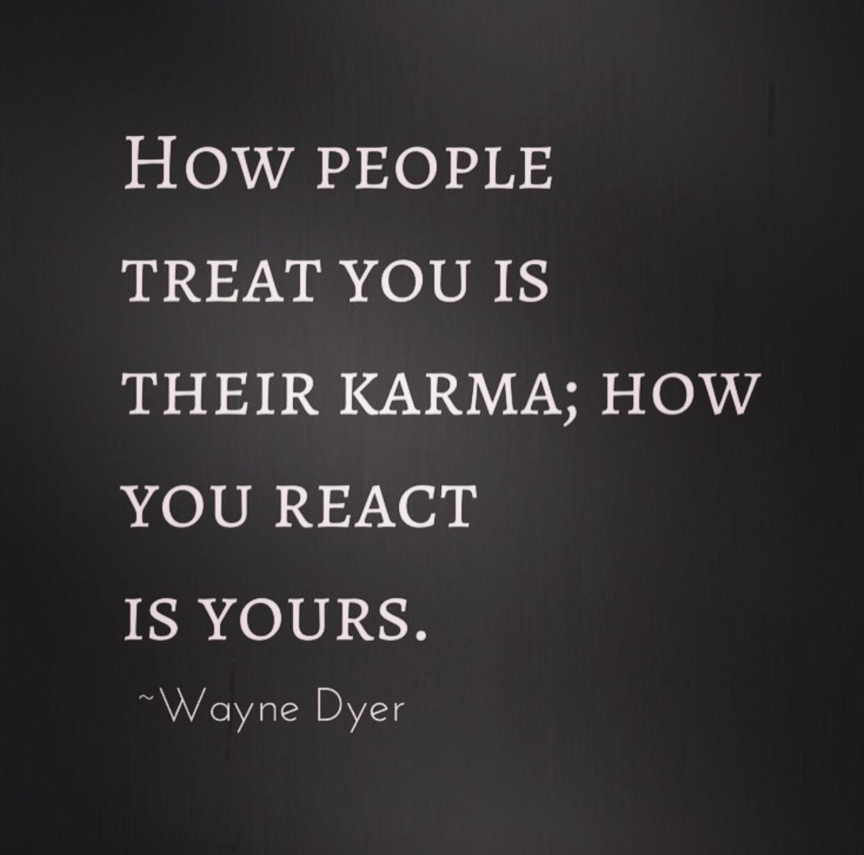 [image] The way people treat you is a statement about who they are, it's not about you.