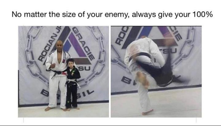 [IMAGE] Always give your best ,the size never matters!!