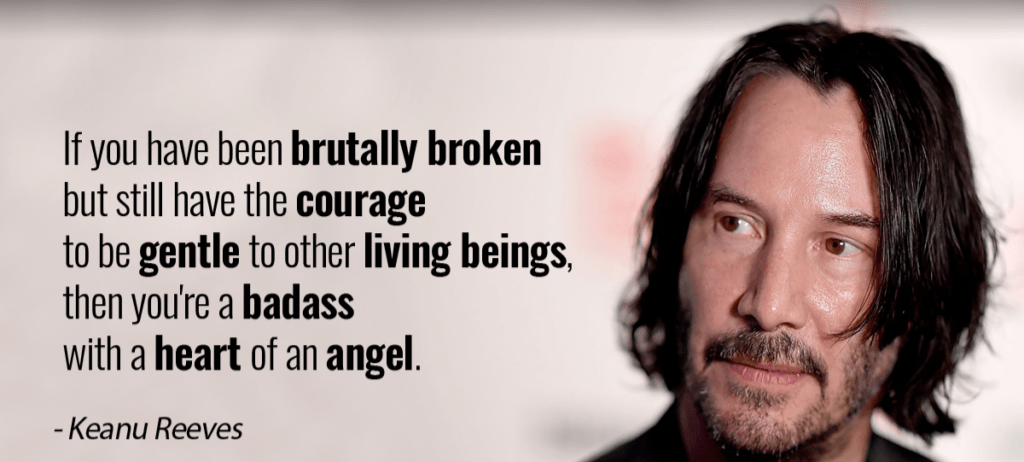 [Image] – You're a badass with a heart of an angel