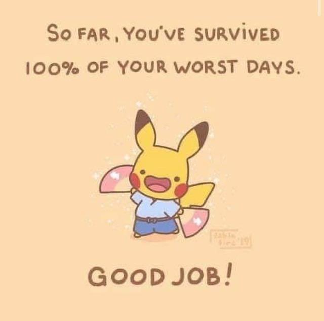 [Image] You're doing great so far! Keep it up!