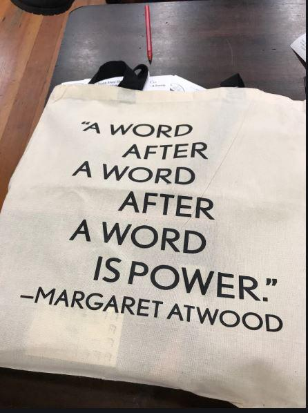 A word after a word after a word is power.Margaret Atwood (850×1020)