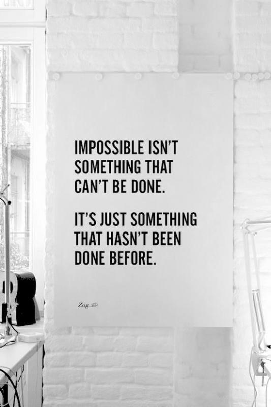 [IMAGE] I'm Possible.