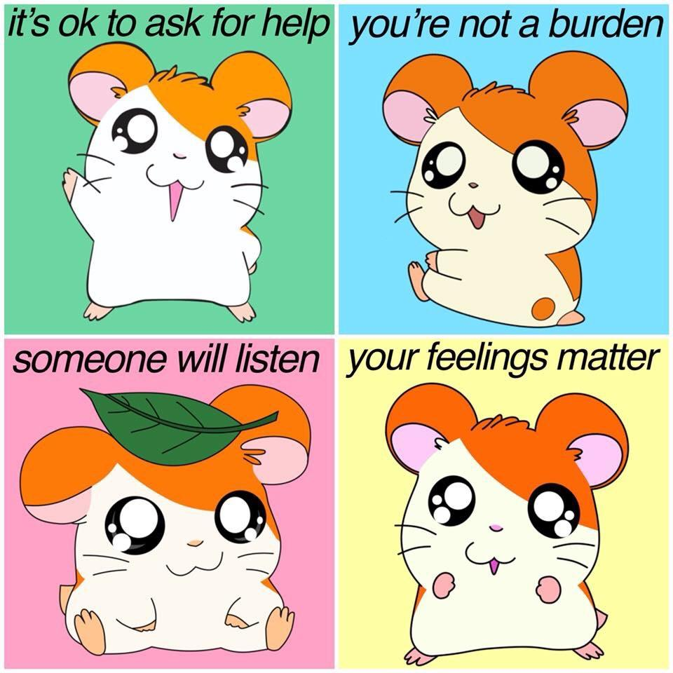 [Image] It's okay to ask for help when you need it.