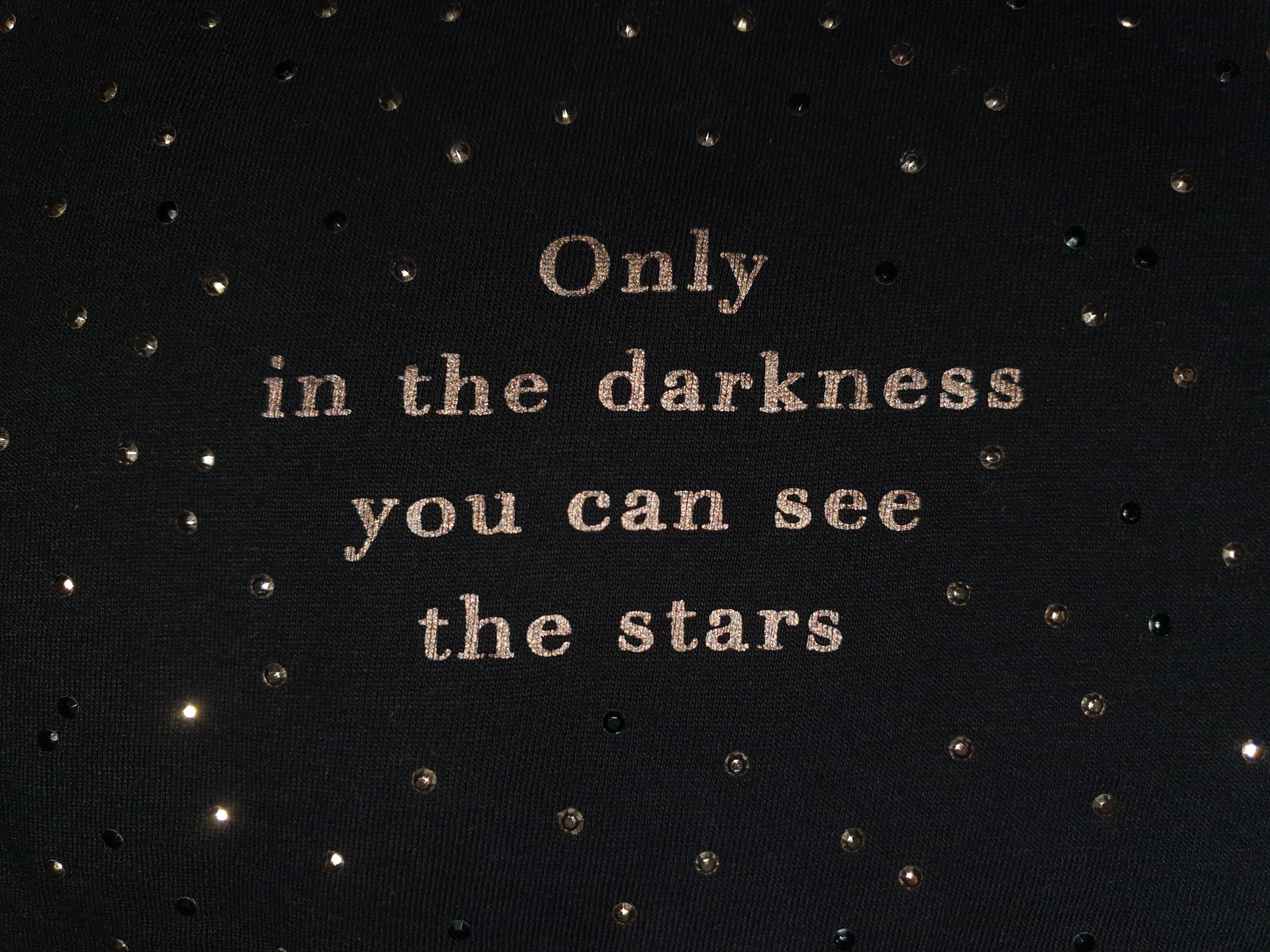 [Image] You just have to look for the stars