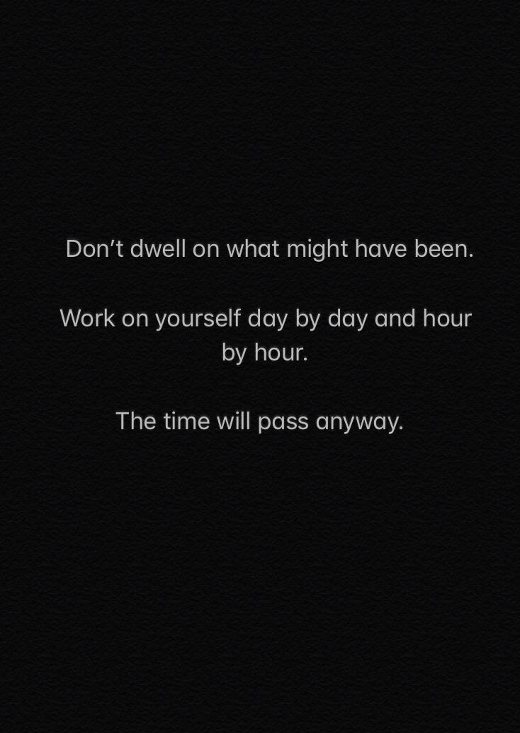 [IMAGE] The time will pass anyway.