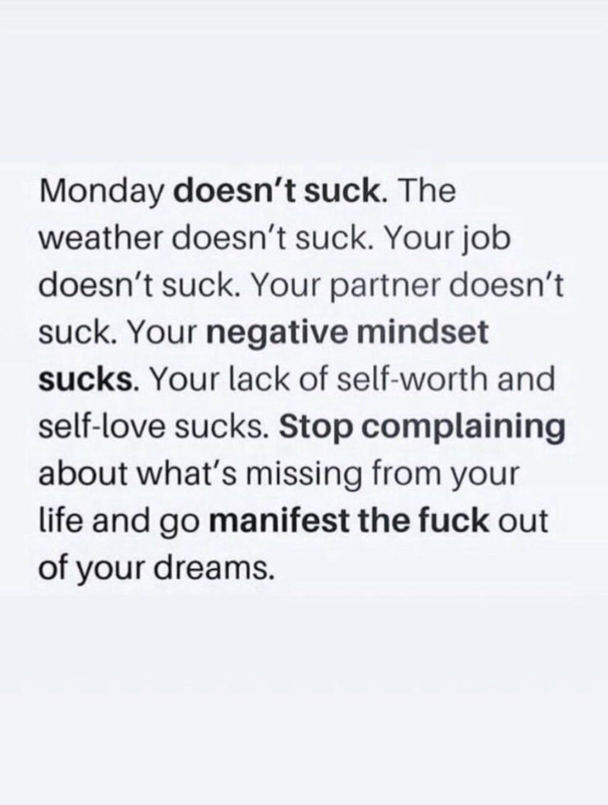[Image] Found on Twitter, felt it was needed on a Monday.