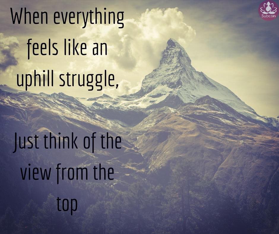 [Image] Uphill Struggle