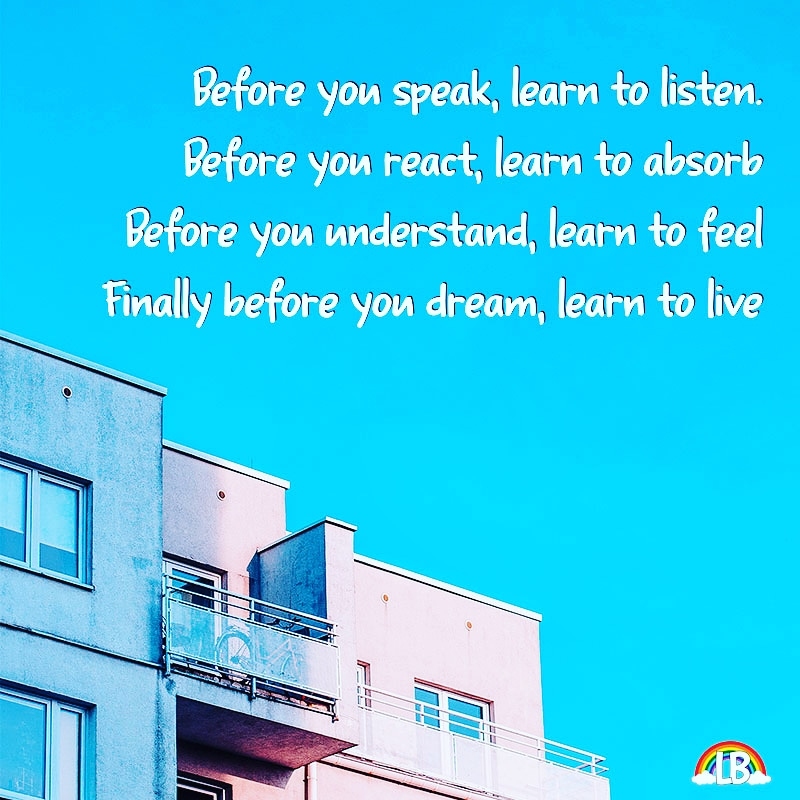 [Image] Learn To Live!