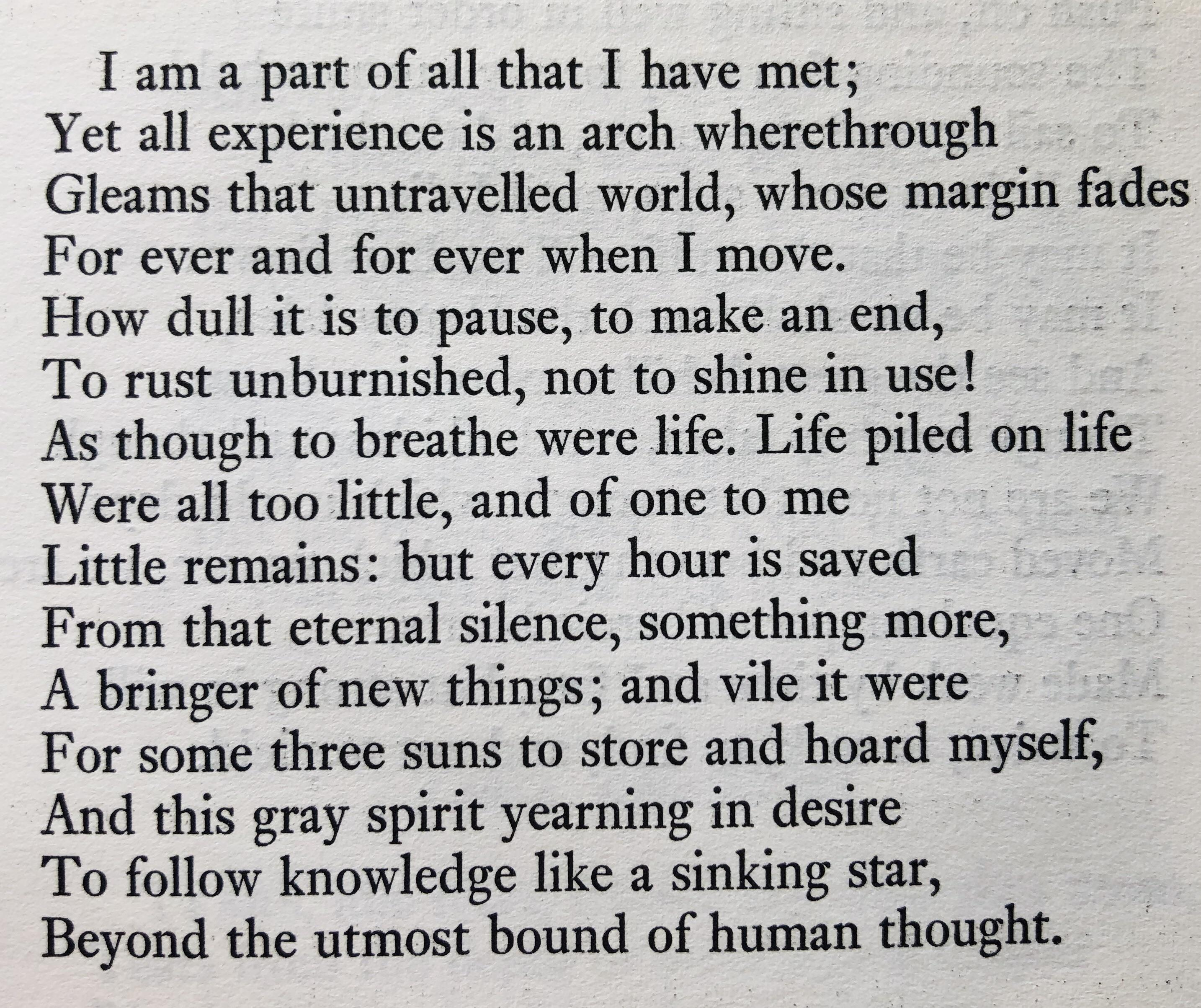 "[image] Tennyson – from ""Ulysses"""