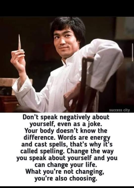 [Image] The power of words, if we let them have it.