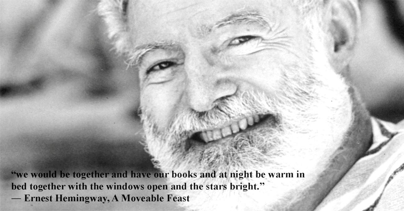 We would be together and have our books… E. Hemingway Paris a moveable feast (1300×681)