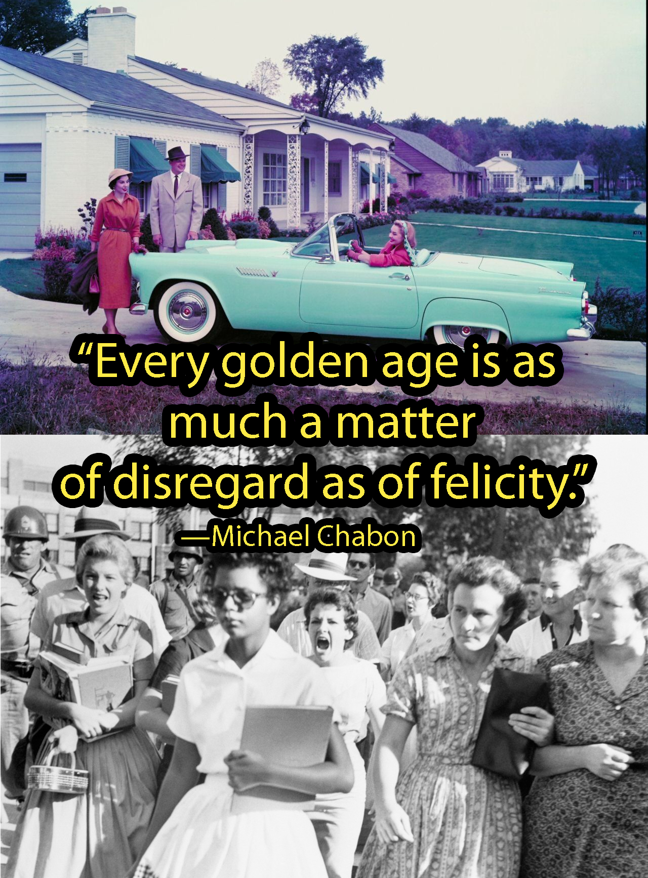 """Every Golden Age…"" –Michael Chabon [1280×1735]"