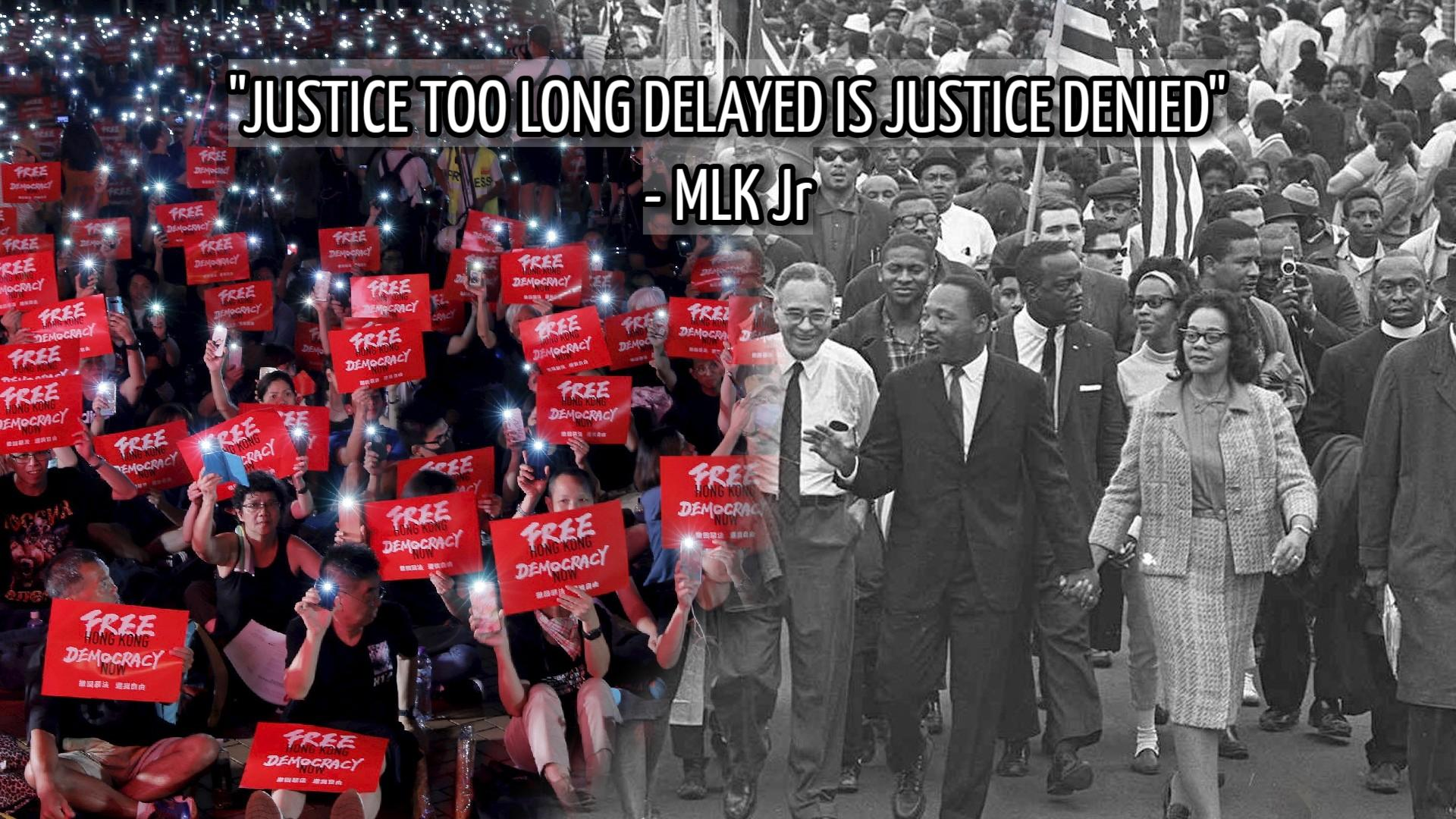 """Justice too long delayed is justice denied."" – Martin Luther King Jr [1920×1080]"