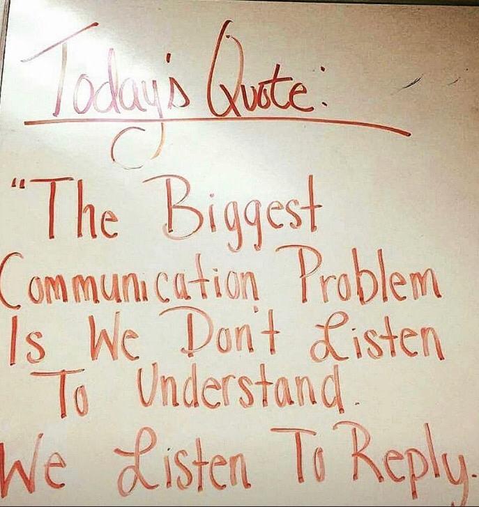 [Image] – Listen to understand