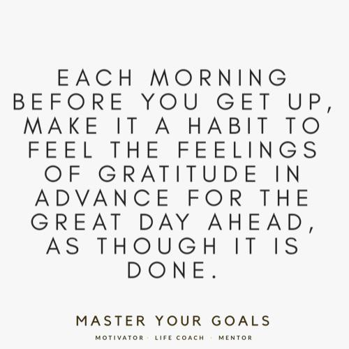 [IMAGE] Start Your Day Positively