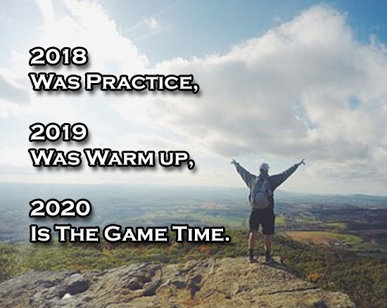 [Image] Here's some 2020 motivation! Honestly, I feel like this picture accurately describes what these past 2 years have felt like. Let's keep up the trend!