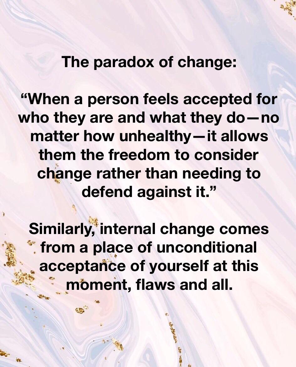[Image] The paradox of change